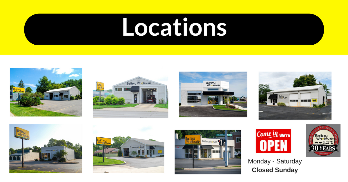 toledo battery store locations