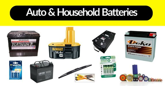 Toledo car and household batteries